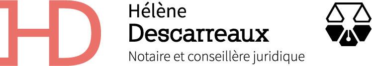 Logo Hélène Descarreaux Notaire et conseillère juridique